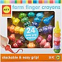 Farm Finger Crayons