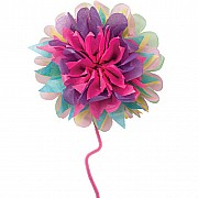 Make Giant Paper Flowers