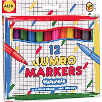 Washable Jumbo Markers