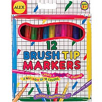 Alex Brush Tip Markers (12)