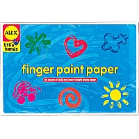 Alex Finger Paint Paper
