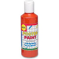 Washable Poster Paint 8Oz Orange