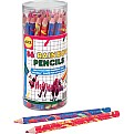 Chubby Rainbow Pencils (36) Canister
