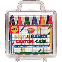 Alex Little Hands Crayons In Travel Case (12)