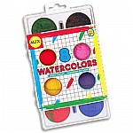 Jumbo Water Colors (8)+ Brush