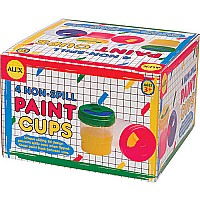 Alex Non-Spill Paint Cups (4)