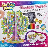 Shrinky Dinks Fantasy Forest and Jewelry Kit