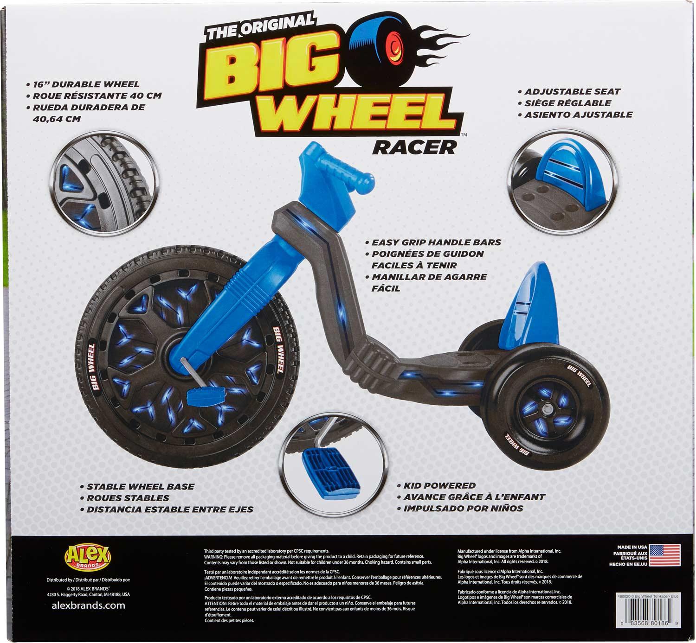 The Original Big Wheel 16in Blue Imagine That Toys