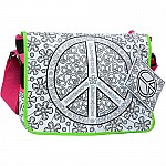 Color A Peace Bag
