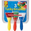 3 Funky Brushes