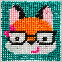 ALEX Toys Craft Simply Needlepoint Fox