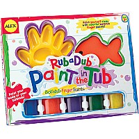 Bathtub Finger Painting Kit