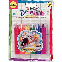 AL: Draw In The Tub Crayons 6