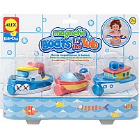 Magnetic Boats In the Tub (3)