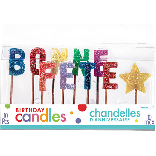 Pick Birthday Candles Bonne Fete Cand