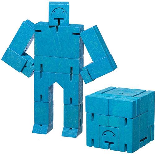 Cubebot Small Blue Stevensons Toys