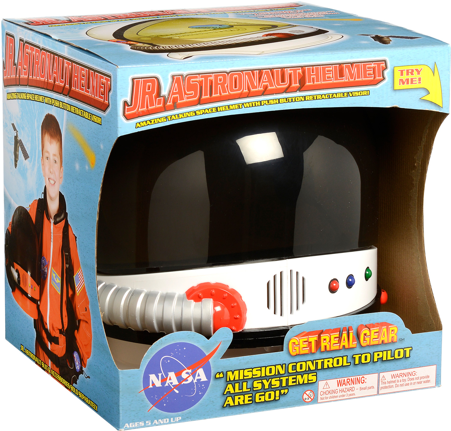 Aeromax Jr. Astronaut Helmet - The Toy Station at School ...