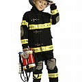 Jr. Fire Fighter Suit, Child Size 2-3