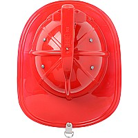 Jr. Fire Fighter, Helmet Only, Red Adj Youth Size, with Siren Light