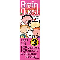 Brain Quest Grade 3 by Feder, Chris Welles