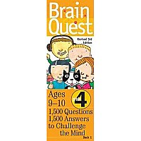 Brain Quest Grade 4 by Feder, Chris Welles