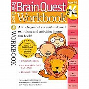 Brain Quest Workbook: Kindergarten by Trumbauer, Lisa