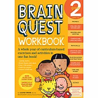 Brain Quest Workbook: Grade 2 by Onish, Liane