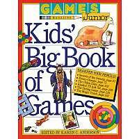 Games Magazine Junior Kids' Big Book of Games by Anderson, Karen C.