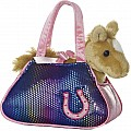 "7"" Betsey Bling Pet Carrier"