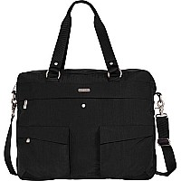 Executive Satchel Black/Khaki