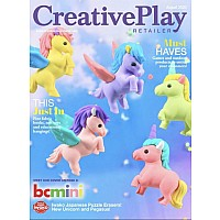Unicorn Erasers-6 Colors-60
