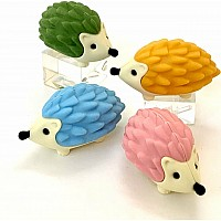 Iwako Hedgehog Eraser-6 Color