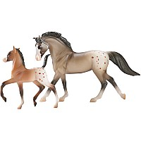 Horse Foal Set 8-Pc Assortment (2 ea of 4 styles)
