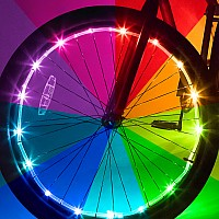 Brightz, Ltd. Color Morphing Wheel Brightz LED Bicycle Light