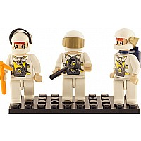 3 Mini-figurines Space TEAM