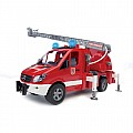 Bruder Sprinter Fire Engine W Ladder, Water Pump Light Sound Module