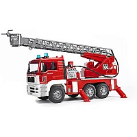 Bruder Man Fire Engine With Water Pump, and Light Sound Module