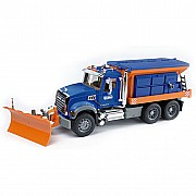Bruder Mack Granite Snow Plow