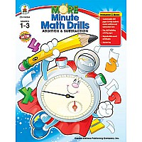 More Minute Math Drills Grade 1-3