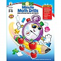 More Minute Math Drills Grades 3-6