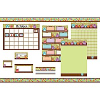 Owls Classroom Collection Bulletin Board