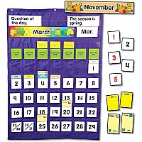Complete Calendar and Weather Pocket Chart