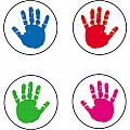 Handprints Stickers
