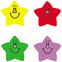 Smiling Stars Stickers
