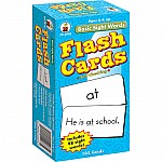 Flashcards Basic Sight Words
