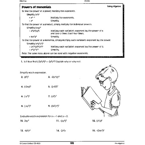 Free language arts worksheets middle school