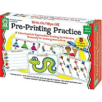 Write On/ Wipe Off: Pre-Printing Practice