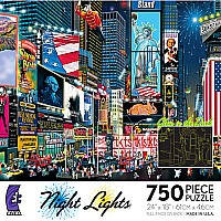750 Piece Night Lights Glow In the Dark Asst.