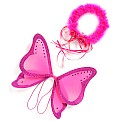 Hot Pink Fairy Wings and HALO (os)