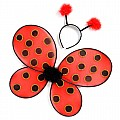 Ladybug Wings & Headband - Yellow